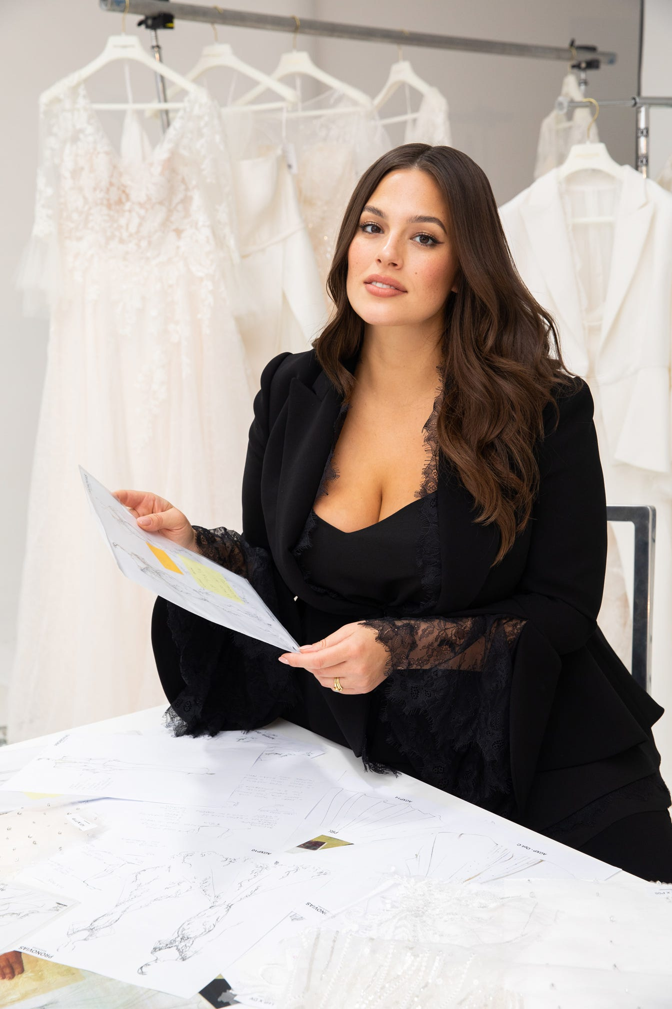 Ashley Graham by Pronovias. Desktop Image